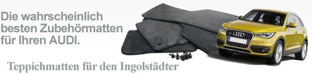 Fussmatten Audi. http://www.style-for-cars.de/index.php/Auto-Fussmatten/Audi-Fussmatten.html