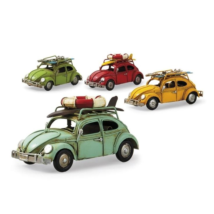 VW Volkswagen Beetle Tin Toy Car