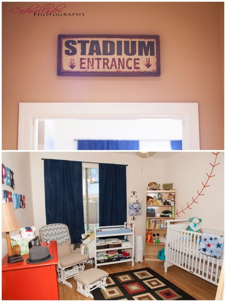 122 Best BASEBALL BEDROOM Images On Pinterest