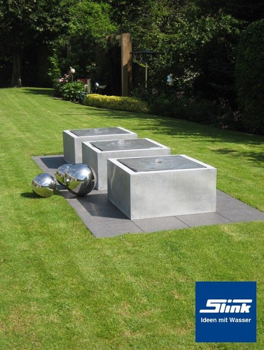 Awesome Fountains made of zinc Slink Ideen mit Wasser News and press releases