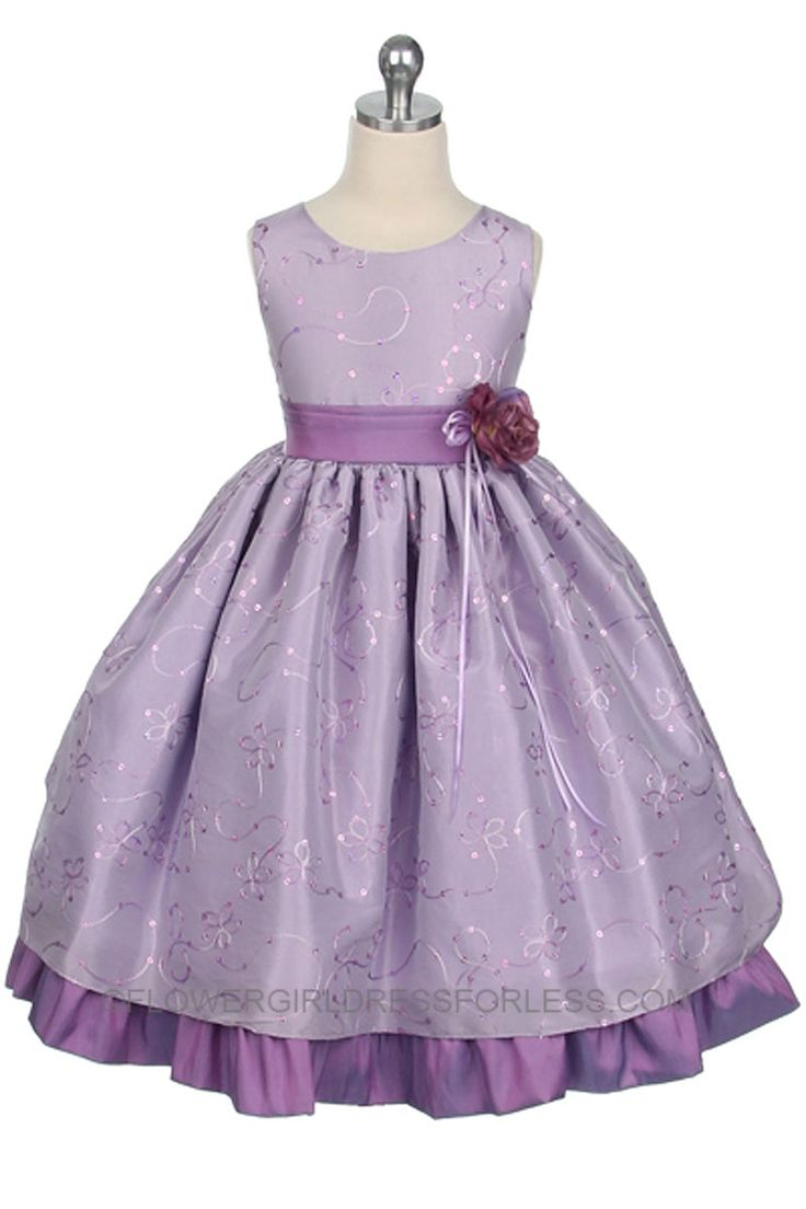 Opinion, the lavendar flower girl dresses idea has