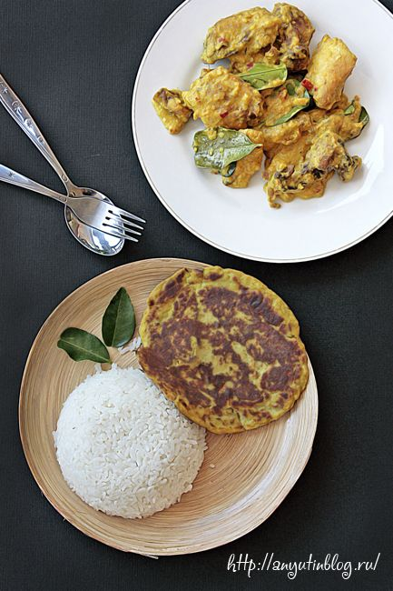 Лепешки из цветной капусты и куриное карри с йогуртом / Cauliflower pancakes and chicken curry #dukan, #diet, #food, #recipe, #recipes, #pancakes, #rice, #chicken, #meal, #tasty, #cauliflower, #curry