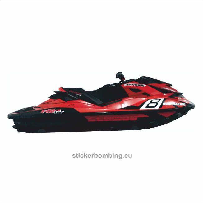 Sea-Doo RXP-X 300 RS Riva Racing, 300, 260 Jet Ski Full Set