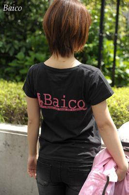 Baico オリジナルTシャツ /女性用/レディース/バイク用品/Tシャツ/半袖/Baico/バイコ