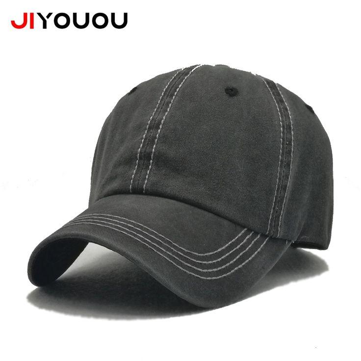 [JIYOUOU] 2017 simple summer cotton baseball cap dad hat snapbacks men bone masculino Leisure gorras militares hombre dad hat #Affiliate