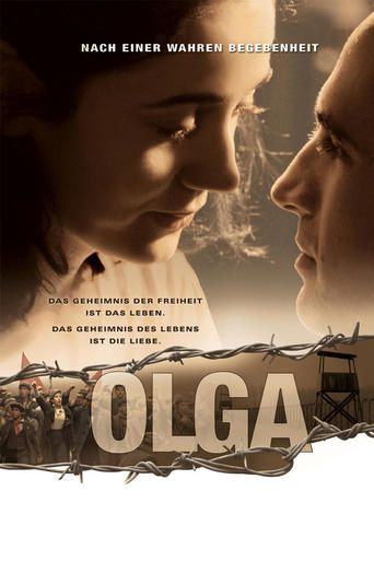 Olga (2004) | http://www.getgrandmovies.top/movies/16943-olga | Based upon the true story of Olga Benário, the German-born wife of Brazilian communist leader Luís Carlos Prestes. During the dictatorship of Getúlio Vargas (1930-1945) she was arrested and sent to Nazi Germany, where she was put to death in a concentration camp. After World War II began, Vargas decided to uphold the Allies.