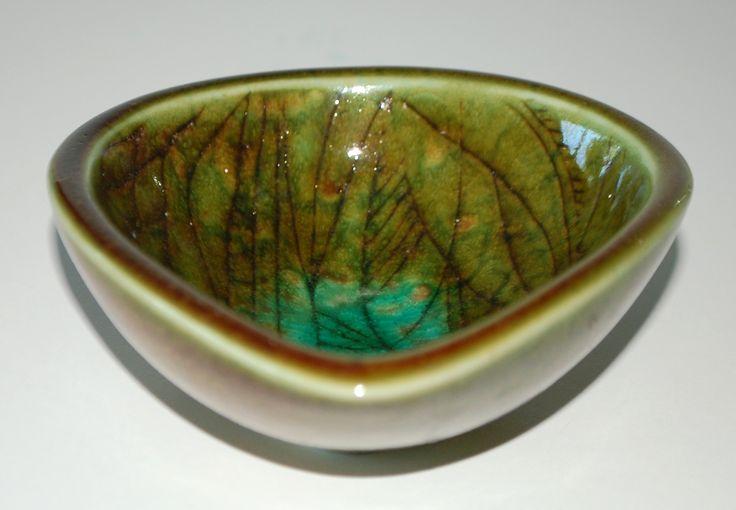 Nils Thorsson, Small bowl, Royal Copenhagen, one of a kind. W: 12x10,5 cm.