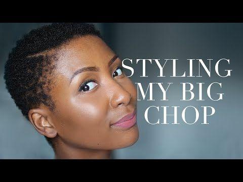 (289) Styling My Big Chop : 4B/4C TWA Sponge Method - YouTube