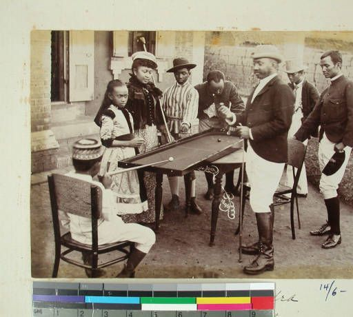Prince Ramahatra with his wife and relatives, Antananarivo, Madagascar, 1896 :: International Mission Photography Archive, ca.1860-ca.1960