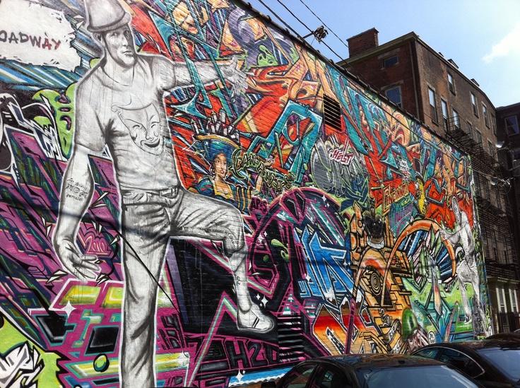 17 best images about wall street art murals on for Cincinnatus mural