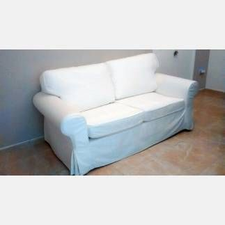 Vendo sof 2 plazas blekinge blanco ikea ektorp perfecto for Vendo sofa cama 2 plazas