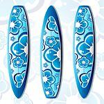 Tavola Da Surf, Surfing, Elegante, Blu
