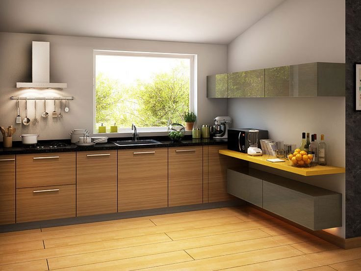 florence lshaped modular kitchen irish creame  brush