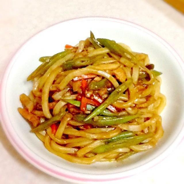 見た目悪い焼きうどん(〃ω〃) - 59件のもぐもぐ - 晩ご飯プレート by lilianhuang