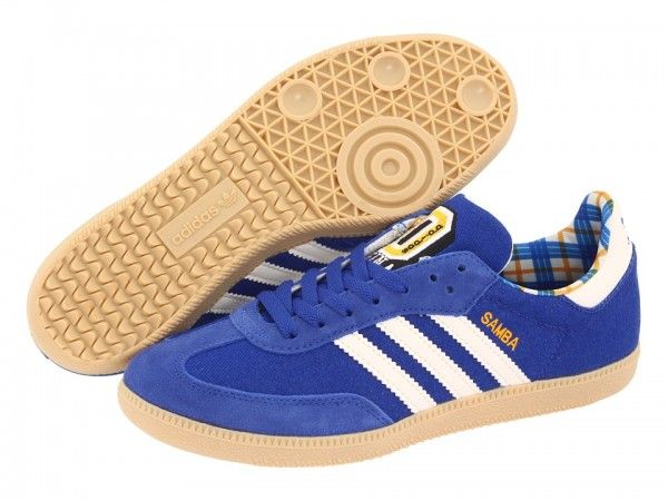 Image result for blue adidas samba