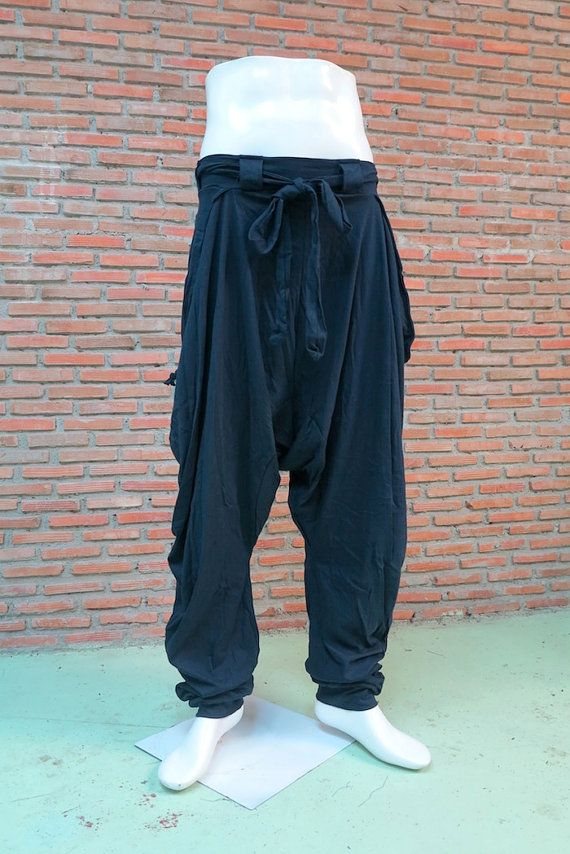 Harem pants 001 blue by Ommme on Etsy