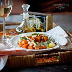 Dynia piżmowa z szałwią i fetą. | Ósmy kolor tęczy - Blog kulinarny