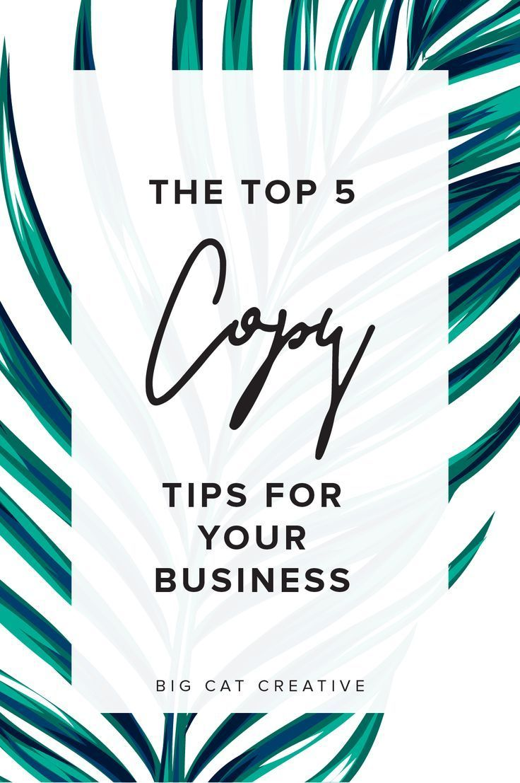 Top 5 Copywriting Tips For Business Owners Small Business