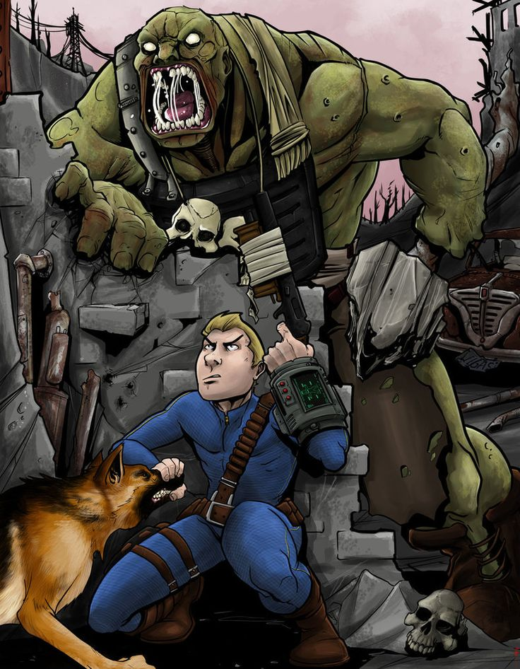 Fallout 4 Finished! by MeaT-Artworx