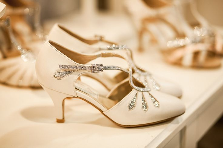 Rachel Simpson has collaborated with Freed of London, an established dance shoe design house to create a collection of wedding shoes inspired by dance shoes - and offering ultimate comfort on your wedding day.