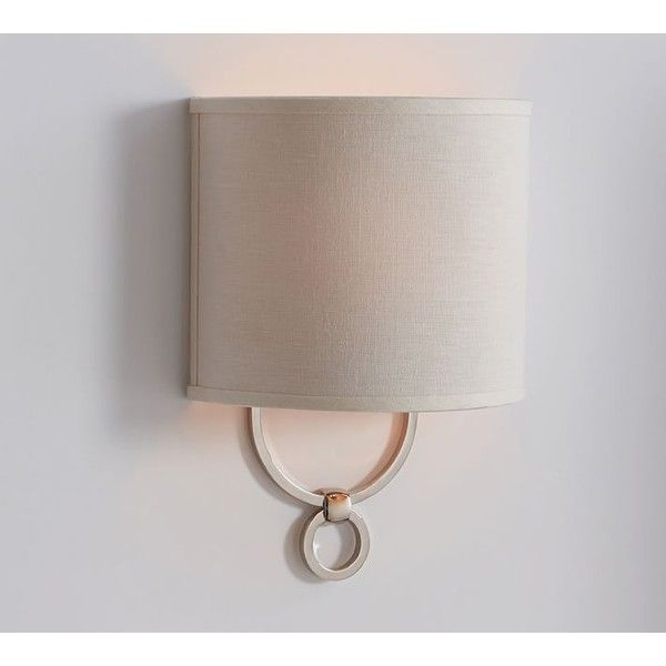 Pottery Barn Carriage Lamp: Pottery Barn Francis Sconce ($79) Via Polyvore Featuring