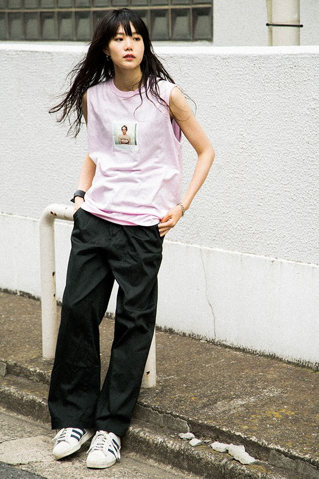 [FASHION] X-girl × Larry Clark meets Nylonista snap: nairu - NYLON JAPAN