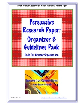 This research organizer pack is free to you!  PDF File contains 9 printables for student/teacher to use in the persuasive essay research paper writ...: Paper Writing, Printable, Paper Organizations, Language Art, Research Paper, Classroom Writ, Free Writing, Education Writ, Writing Resources