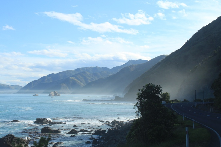 Kaikoura coastal road - M.Belluet