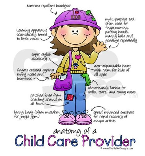 Child Care Providers...Thank You.
