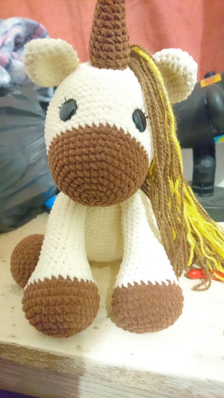 Unicornio amigurumi #unicornio_amigurumi #unicornio #tierno