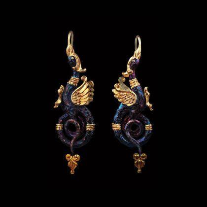 griffins earrings