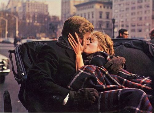 """Robert Redford and Jane Fonda in """"Barefoot in the Park"""", 1967."""