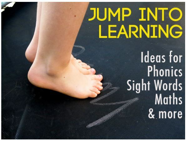 Jump Into Learning: Kinesthetic Learning Activities - pinned by @PediaStaff – Please Visit ht.ly/63sNt for all our pediatric therapy pins