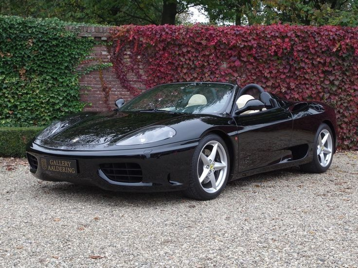 Ferrari 360 Modena Spider From 1st owner with only 14.000 kms!   Gallery Aaldering
