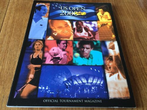 Us open 2000 #tennis #championships #official program,  View more on the LINK: http://www.zeppy.io/product/gb/2/302095760094/