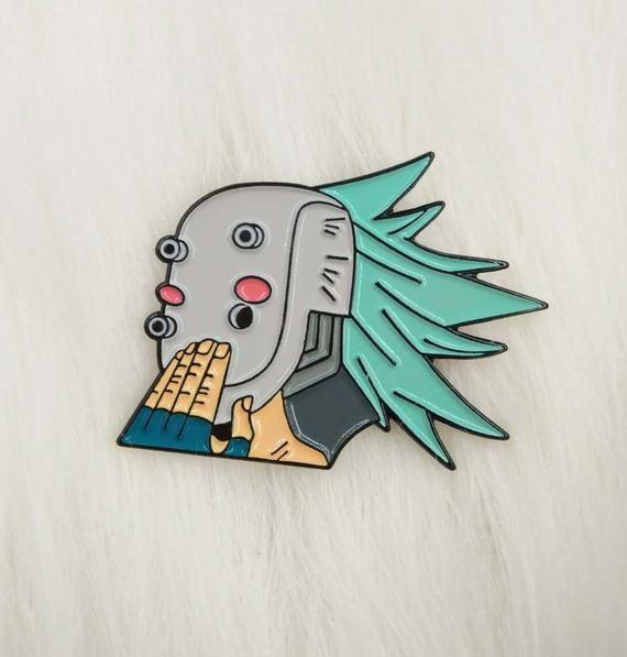 Midoriya in Disguise Lapel Pin