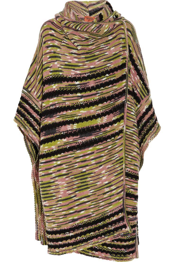 Missoni Knitted cashmere-blend cardi-coat