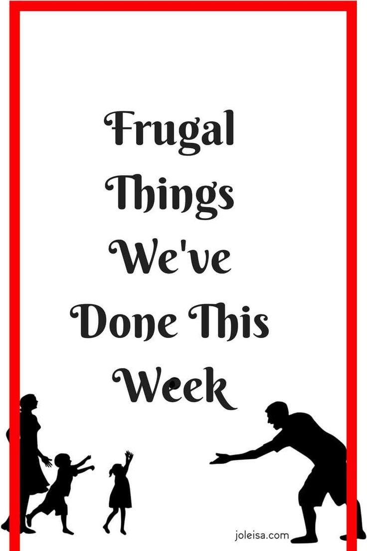 Frugal Things We've Done This Week- Half Term fun With Kids