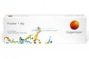 Soczewki kontaktowe Proclear™ 1 Day 30 szt. - soczewki jednodniowe sferyczne
