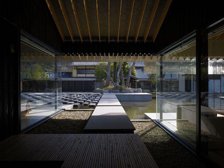 yien east villa, japan, architect Kengo Kuma