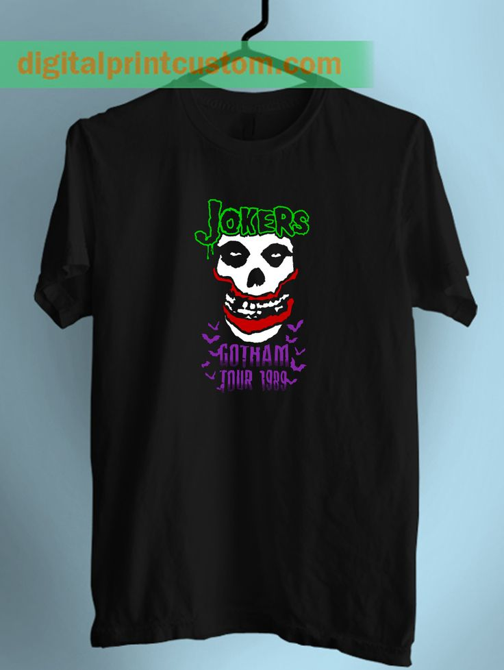 Joker Gotham City Tour Unisex T Shirt  #joker #gotham #gothamcity #arkhamcity #misfit #batman #harleyquinn #tshirts #clothing #menclothing #womenclothing #mentshirts #womentshirts