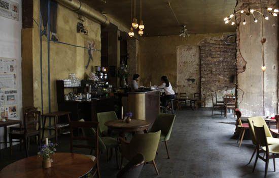 Cafe Luzia , Oranienstrasse 34 , Berlin (Germany) Inspiring - cafe wohnzimmer berlin