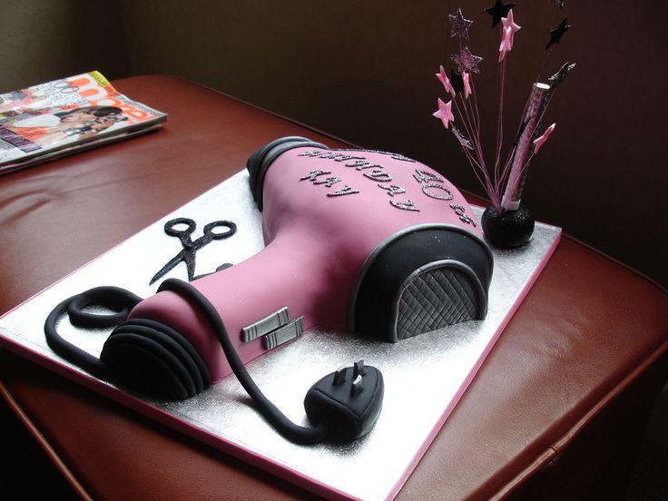hairdryer / hairdressing cake                                                                                                                                                                                 More