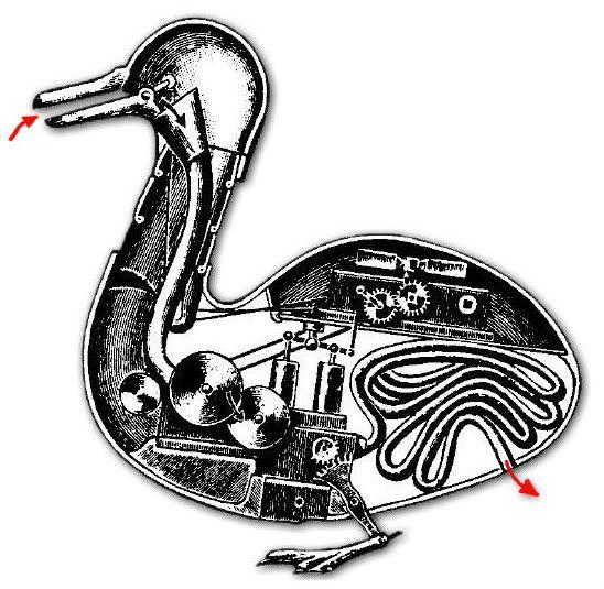 Vaucanson's  DuckDucks Features, Feathers Flock, De Vaucanson, Robots Ducks, Mechanics Ducks, Vaucanson Design, Jacques De, Vaucanson Ducks, Digest Ducks