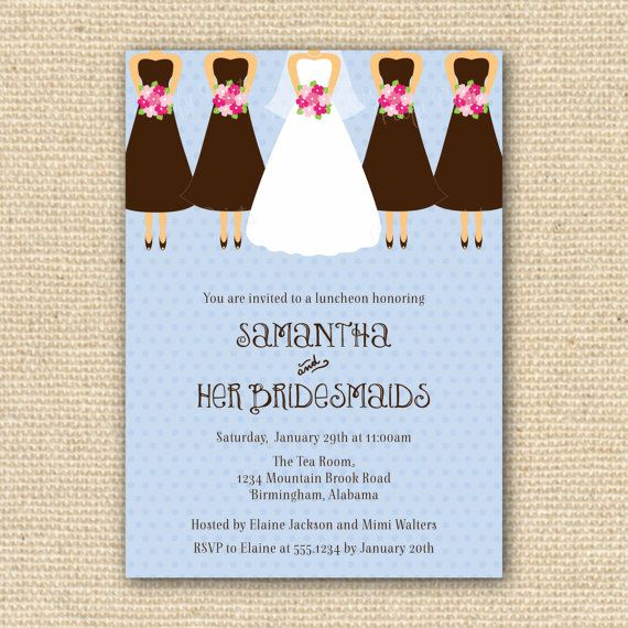 bridesmaid brunch invitation wording 28 images bridal shower