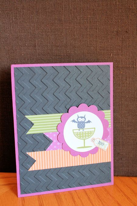 how to make a zig zag card