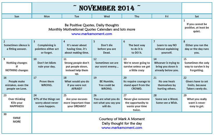 61 Best Monthly Motivational Quotes Calendar Images On