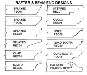 Pergola End Cut Designs | Pergolas / Gazebo (shared via SlingPic)