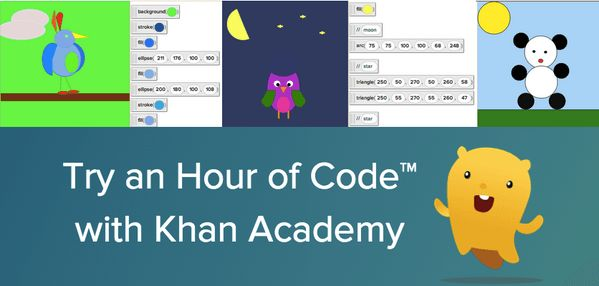 Anyone can learn to code! Spend an hour on Khan Academy learning to code, with our tutorials in JS, HTML, or SQL.