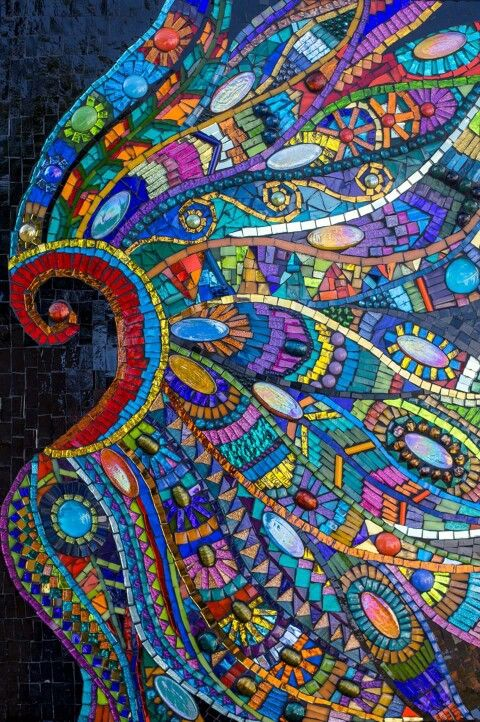1379 best images about mosaics 5 on pinterest mosaic for Mosaic ideas for the garden